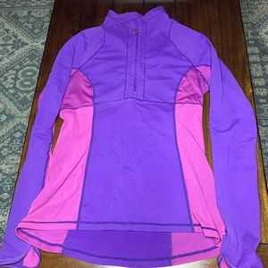 LULULEMON || Pink & Purple Pullover